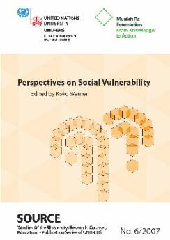 Perspectives on Social Vulnerability Edited by Koko Warner
